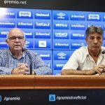 """Renato pede calma à torcida do Grêmio: """"Se achar que estou atrapalhando, sou o primeiro a sair"""""""