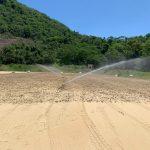 Botafogo inicia plantio dos gramados, mas mudança para o novo CT segue sem data