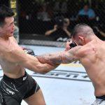 UFC: Zumbi Coreano vence Ige, e Bruno Blindado estreia com nocaute
