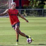 Escalação do Flamengo: Pedro não vai a campo em treino, e tendência é de que fique fora do Fla-Flu